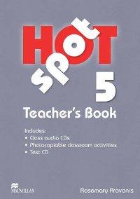 Hot Spot Level 5 Teachers Book & Test CD Pack includes Class Audio CD