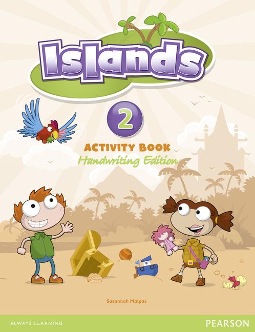 Islands handwriting Level 2 Activity Book + pin code