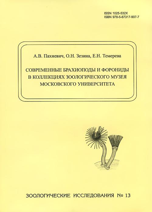 Современные брахиоподы и форониды в коллекциях Зоологического музея Московского университета