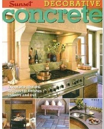 Decorative Concrete (Sunset Design Guides)