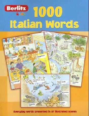 Italian berlitz kids 1000 words ( 9789812465276 )