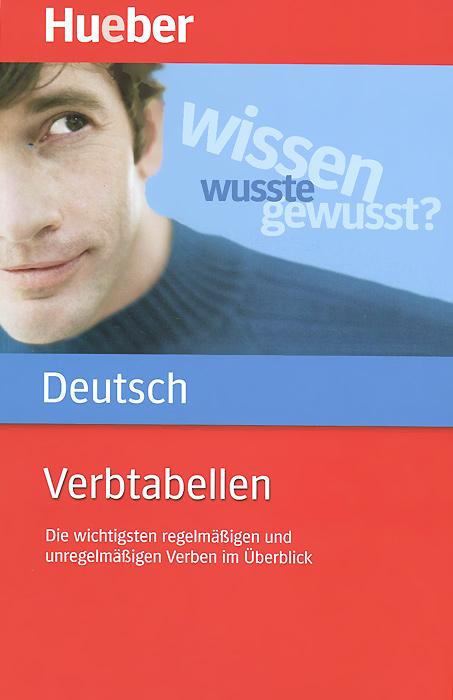 Deutsch Verbtabellen