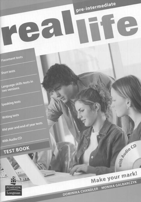 Real Life: Pre-Intermediate: Test Book (+ CD)