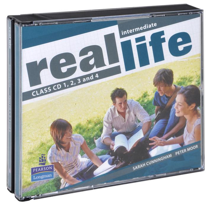 Real Life: Intermediate (аудиокурс на 4 CD)