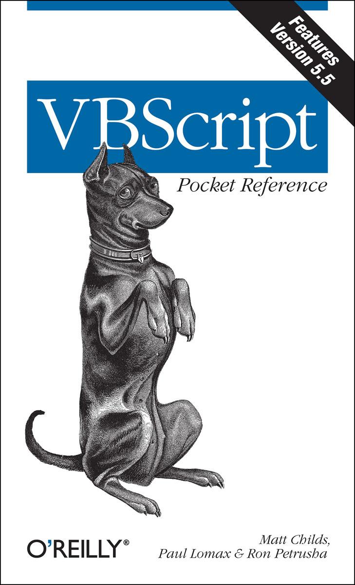 VBScript Pocket Reference ( 9780596001261 )