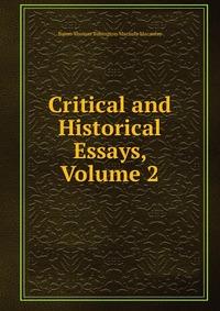 books critical essays