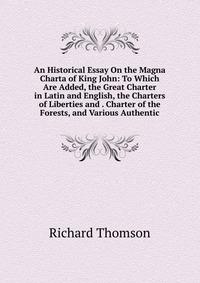 the impact of magna charta essay