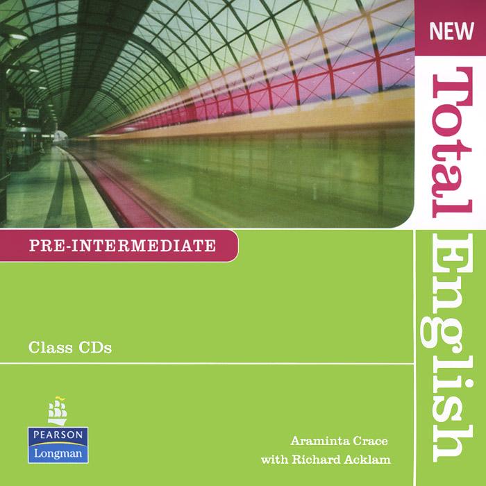 New Total English: Pre-Intermediate (аудиокурс на 2 CD)