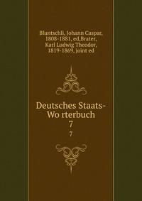 Deutsches Staats-Wo?rterbuch