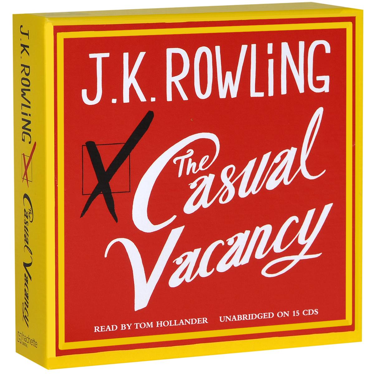 The Casual Vacancy (аудиокнига на 15 CD)
