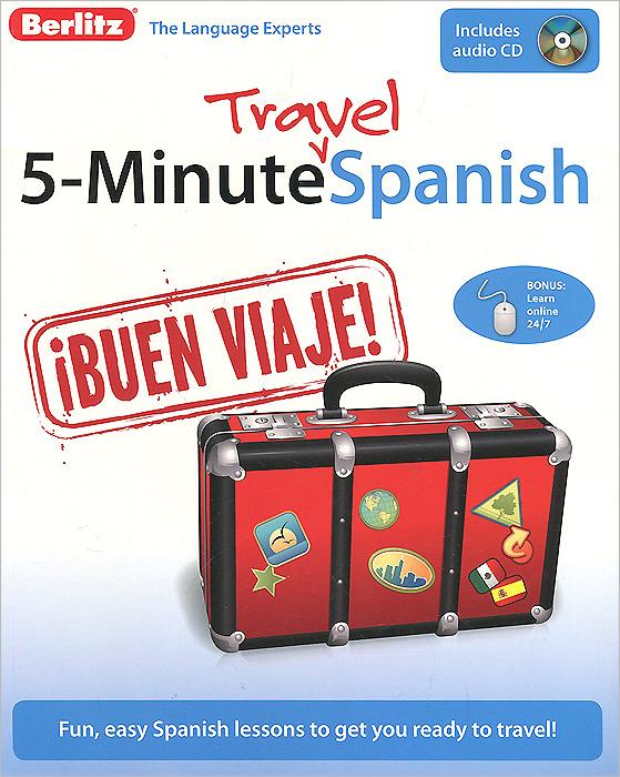 5-Minute Travel Spanish (+ CD-ROM)