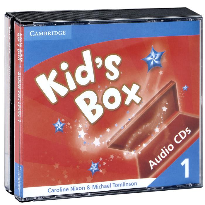 Kid's Box 1 (аудиокурс на 3 CD)