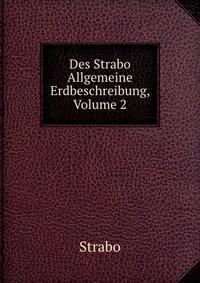 Des Strabo Allgemeine Erdbeschreibung, Volume 2