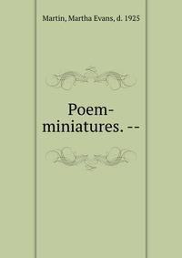 Poem-miniatures. --