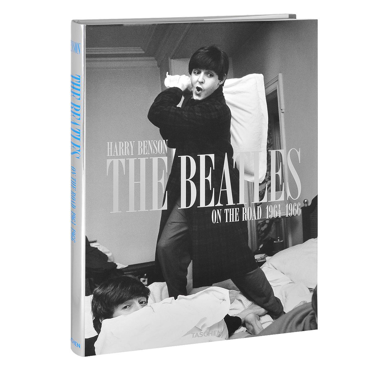 Обложка книги The Beatles: On the Road 1964-1966
