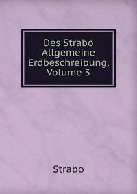 Des Strabo Allgemeine Erdbeschreibung, Volume 3