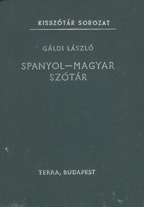 Spanyol-magyar szotar