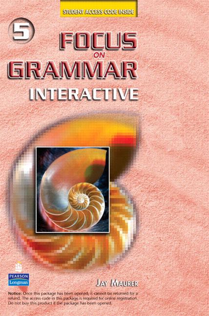Focus on Grammar Interactive 5: Online Version