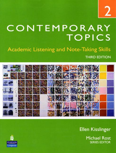 Contemporary Topics 3Ed 2 SB+DVD