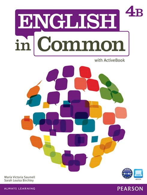 English in Common 4B Split: SB+ActBk+WB