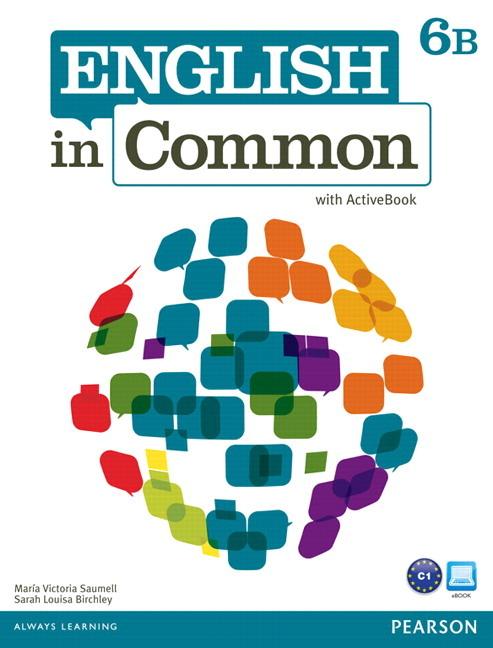 English in Common 6B Split: SB+ActBk+WB