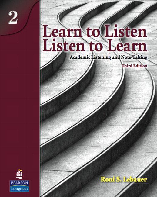 Learn to Listen, Listen to Learn 2