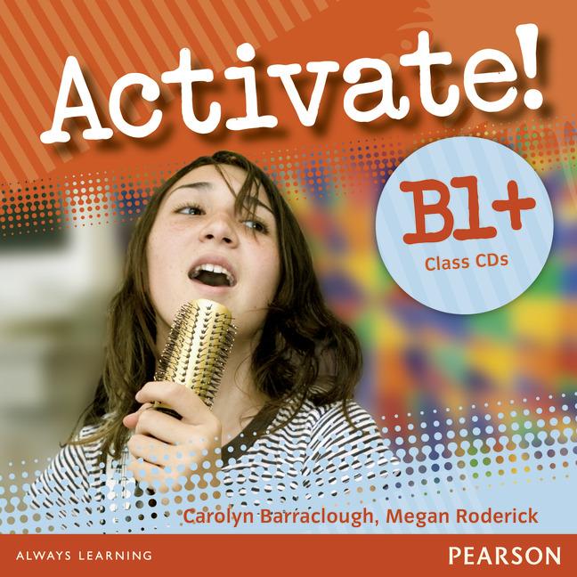 Activate! B1+: Class CDs (аудиокурс на 2 CD)