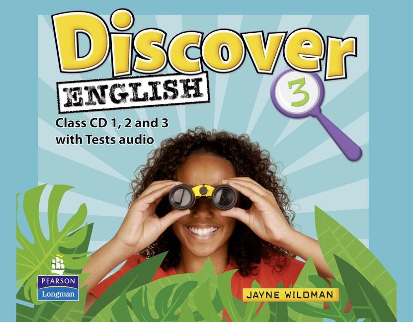 Discover English: Global 3: Class Audio CD (аудиокурс на 3 CD)