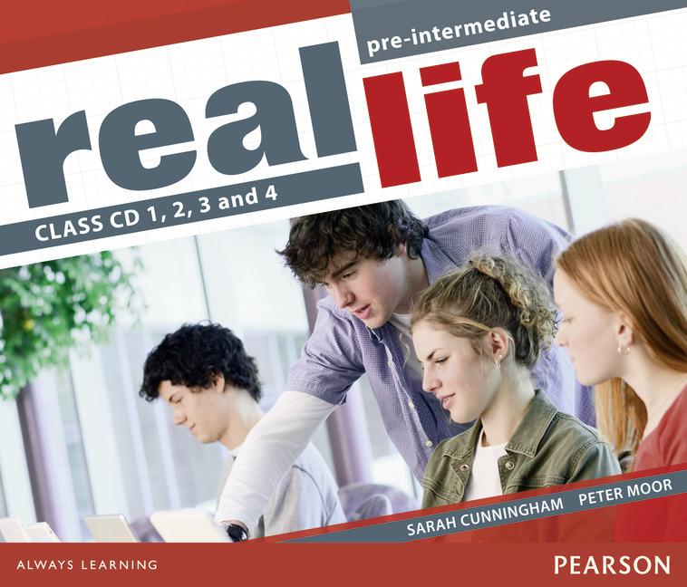 Real Life: Pre-Intermediate: Class CDs (��������� �� 4 CD)