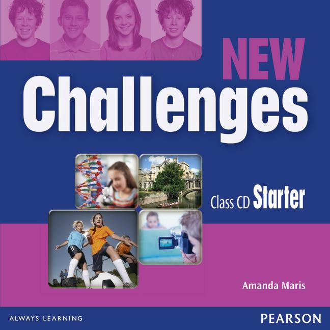 New Challenges: Class CDs Starter (аудиокурс на 2 CD)