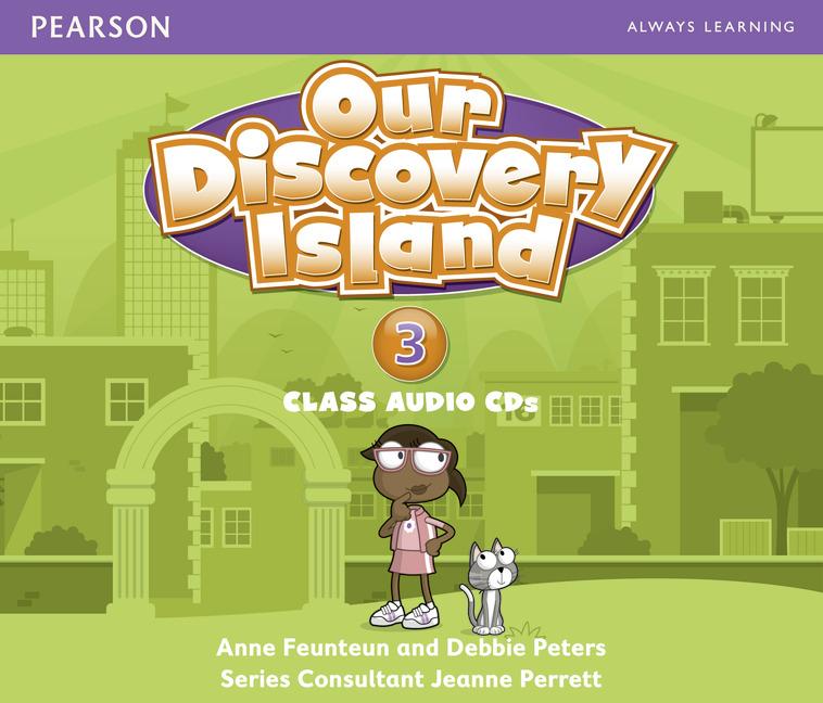 Our Discovery Island 3 Audio CD x 3 лиценз.