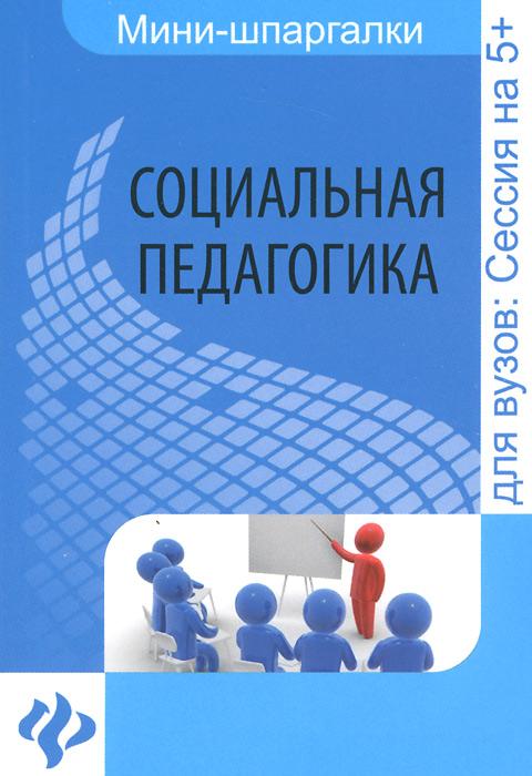 Социальная педагогика. Шпаргалка ( 978-5-222-22836-4 )