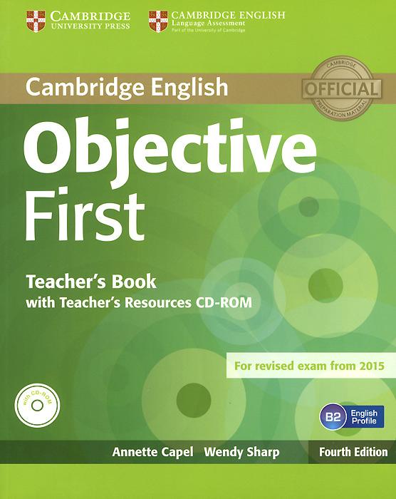 Objective First: Teacher's Book (CD-ROM)