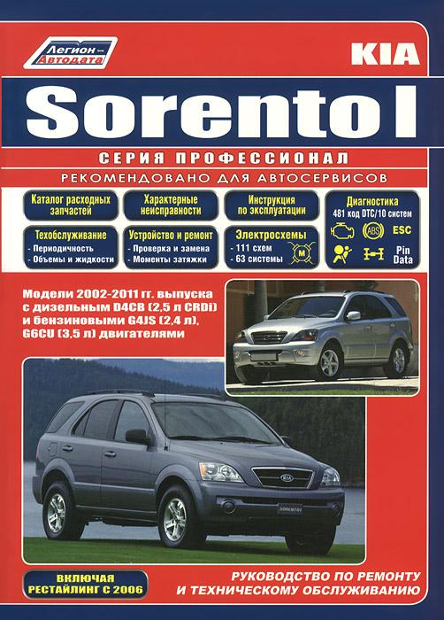 Kia Sorento I. Руководство по ремонту и техническому обслуживанию.