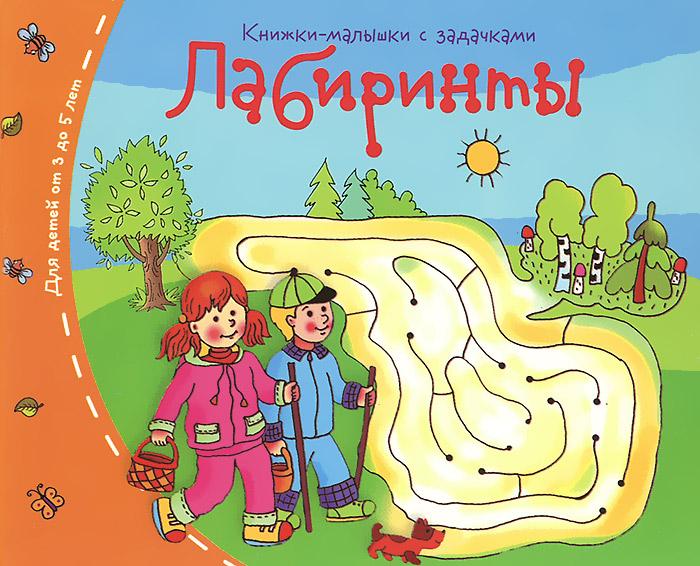 Лабиринты. Книжки-малышки с задачками ( 978-5-8112-5332-6 )
