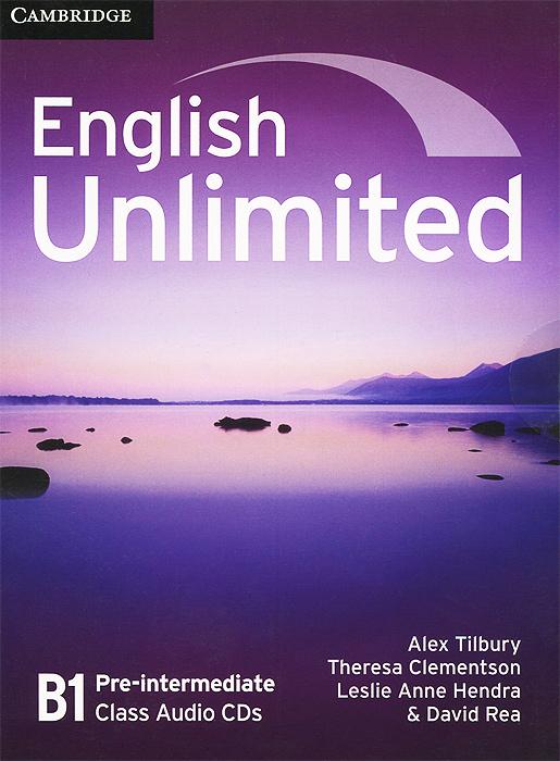 English Unlimited: Pre-intermediate B1 (аудиокурс на 3 CD)