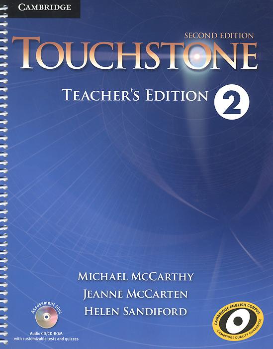 Touchstone 2: Teacher's Edition (+ CD-ROM)