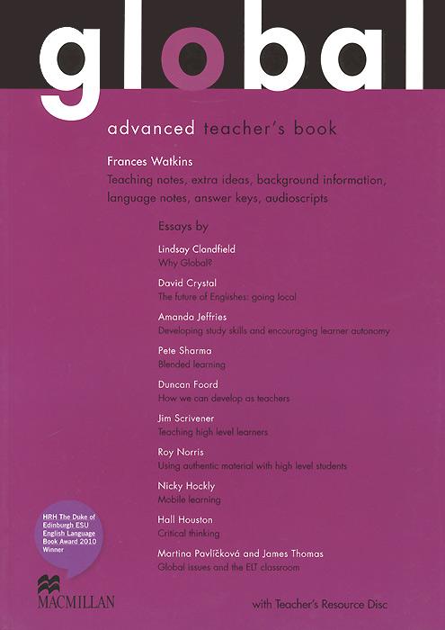 Global Advanced: Teacher's Book (+ CD-ROM)