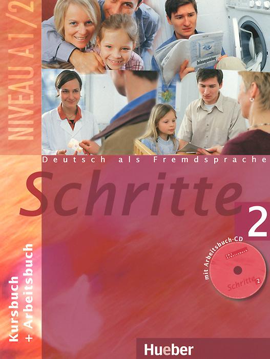 Schritte 2: Kursbuch + Arbeitsbuch (+ CD-ROM)