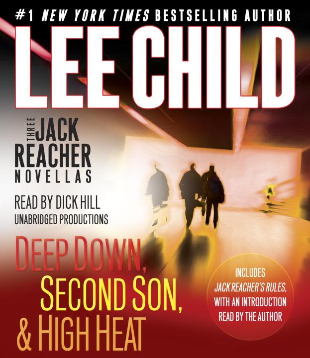 Jack Reacher: Three Novellas: Deep Down, Second Son & High Heat (���������� �� 6 CD)