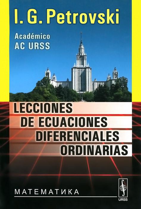 Lecciones de ecuaciones diferenciales ordinarias