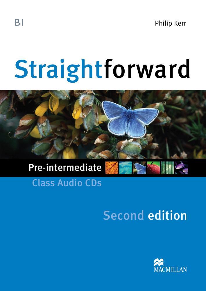 Straightforward 2Ed Pre-Int Class Audio CDs