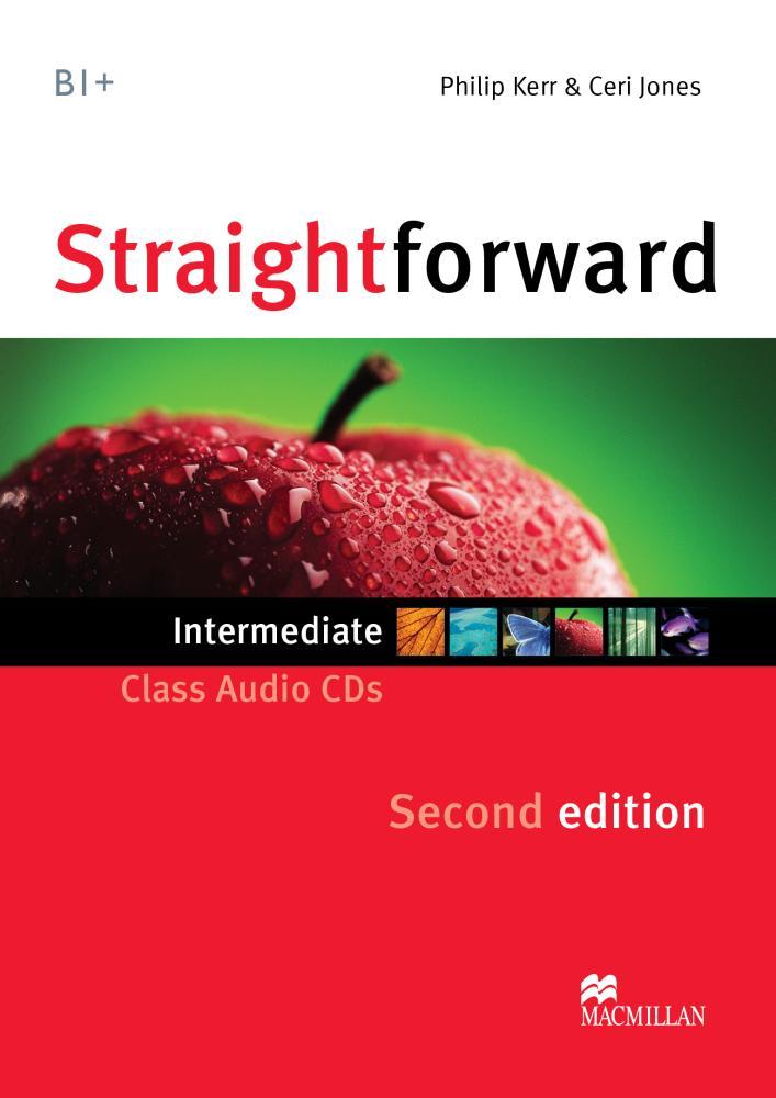 Straightforward 2Ed Int Class Audio CDs