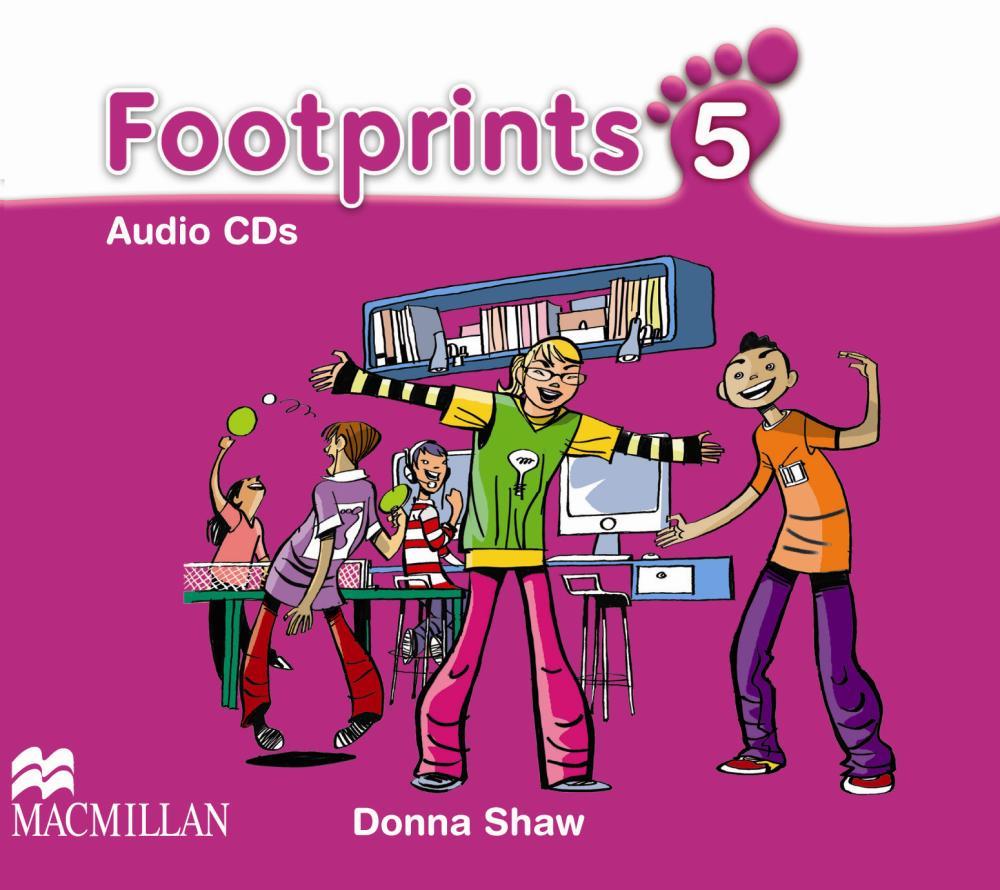 Footprints Level 5 Class Audio CD (4)