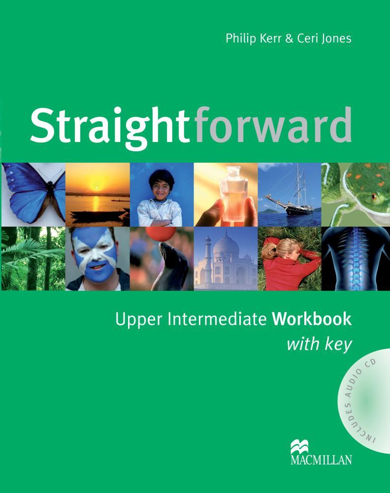 Straightforward Upper Intermediate: Workbook with Key (+ аудиокурс на CD)