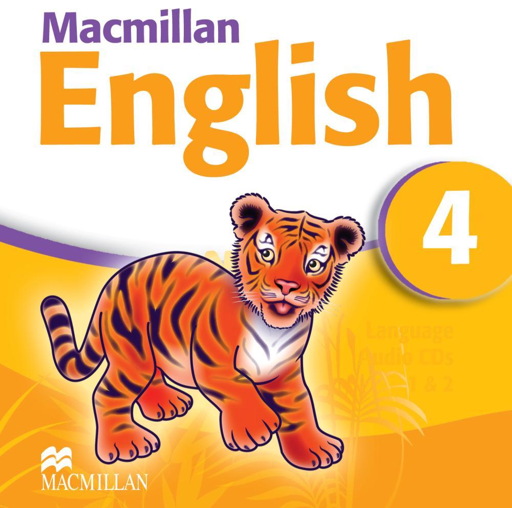 Macmillan English 4 (аудиокурс на 2 CD)