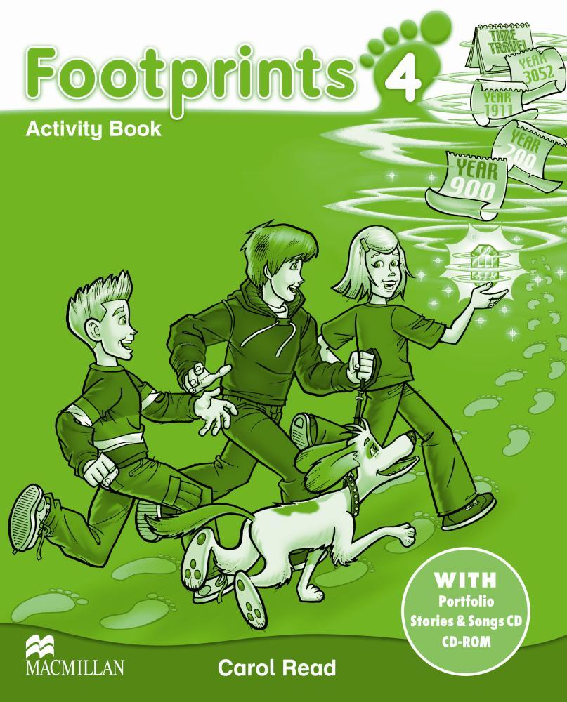 Footprints 4 AB Pk + CD #ост./не издается#