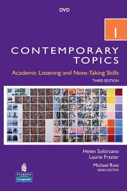 Contemporary Topics 3Ed 1 DVD