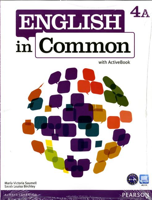 English in Common 4A Split: SB+ActBk+WB+MyLab