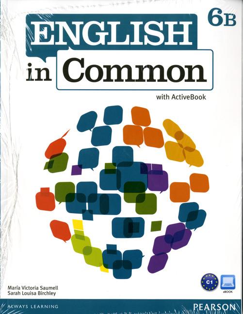 English in Common 6B Split: SB+ActBk+WB+MyLab